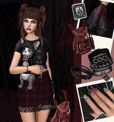 Wicked Good Collage (NerDee79) Tags: second life fashion blog maitreya lara catwa catya bento glam affair pout no nylon outfitters truth elegance boutique eb baiastrice livalle addams pure poison cerberus xing swallow alchemy dust