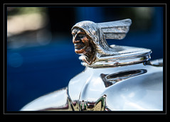 Pontiac - the chieftain (madmtbmax) Tags: car auto us usa american emblem logo badge old retro metal chrome design style stylish oldschool vintage classiccar hobby collector face chieftain indian pontiac