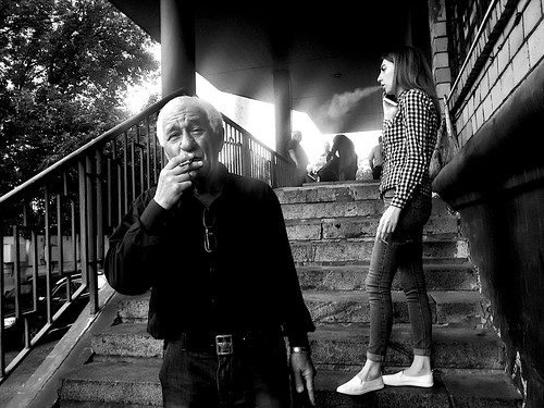 to smoke much ©  Sergei F