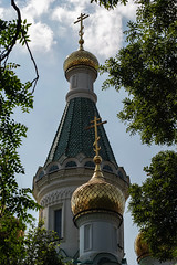 the Russian church (angel.doychinov) Tags: smc pentaxm k1 church orthodox temple sofia bulgaria europe smcpm80200mmf45