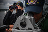 Sailors stand watch aboard USS Bainbridge (DDG 96). (Official U.S. Navy Imagery) Tags: usnavy cnecnac6f baltops2018 ussbainbridge ddg96 balticsea navalstrikingandsupportforcesnato strikfornato kiel germany kielweek
