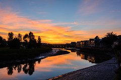 Wadebridge Sunset (RoyReed) Tags: camel wadebridge river sky sunset england unitedkingdom gb