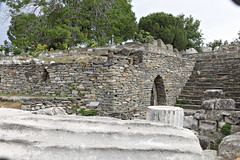 Mausoleum at Halicarnassus (fotoeal) Tags: 2018 turkey mausoleum halicarnassus arch bodrum