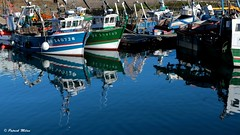 Reflection (patrick_milan) Tags: fishing boat ship bateau peche buoy buoyant bouee reflet reflevtion