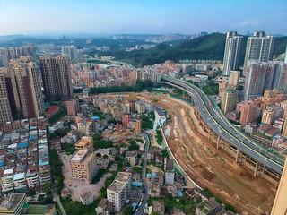 Shenzhen Longgang with DJI Spark Drone