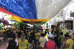 Ruas da Copa - Transmissão Brasil x Costa Rica - 22/06/2018