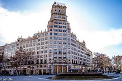 Gnerali Building at Paseo de Gracia in Barcelona (patuffel) Tags: gnerali building barcelona paseo de gracia lluís bonet gari hm argentina consulate