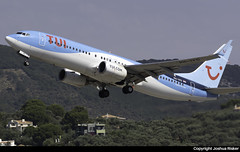 TUIfly Netherlands Boeing 737-86N PH-TFD @ Skiathos Airport (LGSK/JSI) (Joshua_Risker) Tags: skiathos airport lgsk jsi greece tui tuifly netherlands boeing 737 737800 phtfd