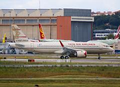 F-WWIN Airbus A320 Néo Vistara / Tata SIA Airlines (@Eurospot) Tags: toulouse blagnac airbus a320 a320neo vistara tatasiaairlines fwwin vtatv