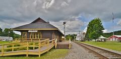 Grand Trunk Railway Station in North Stratford, New  Hampshire, USA (JBPTrains2012) Tags: 20mm