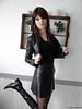FACEBOOK (Laura Wayland) Tags: laura wayland cuir leather jacket fetish fashion boots bottes crossdress crossdresser tgirl traps femboy shemale trans tranny travesti transformiste france model