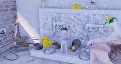 Lala - 334 (Lala - Secrets of a baby) Tags: toddleedoo toddleedoostore {clairdelune} {babybugs} event ~miele~ taikou decoration ninetynine gacha rare dpyumyum