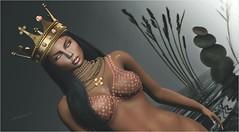still feel (tarja.haven) Tags: addams bauhausmovement necklace crown bra jewellery enchantment photography photo pixelart tarjahaven event avatar sl secondlife digitalart fashion virtual