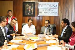 VISITA DEL MINISTRO DE DESARROLLO SOCIAL DE GUATEMALA, CARLOS VELÁSQUEZ MONGE A LA SUCURSAL METROPOLITANA. (diconsa_mx) Tags: sucursal metropolitana diconsa director subsecretario desarrollo social