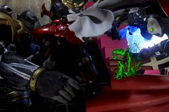 Paprihaven 1391 (MayorPaprika) Tags: 112 custom diorama toy story paprihaven action figure set canoneos50d mcfarlane spawn assassinone wetworks cygor bandai sic superimaginativechogokin kamenrider stronger japan