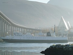 """Stetind"" (OlafHorsevik) Tags: ferge ferga ferry ferja ferje torghattennord thn stetind tromsø reserveferge"