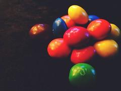 Multicolor Candy (Frau D. aus D.) Tags: peanutbutter erdnussbutter canada kanada kalorien bunt süsigkeit mm macromondays multicolor candy macrofriday