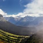 Clouds Were Drifting Through the Skies (Glacier National Park thumbnail