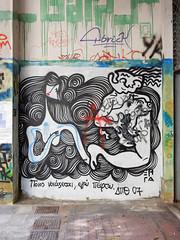 Who cares, I'm dead (aestheticsofcrisis) Tags: street art urban intervention streetart urbanart guerillaart graffiti postgraffiti athens athen attiki athina greek greece europe eu exarcheia exarchia