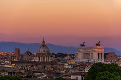 Rome (pappa_Neo) Tags: sunset canon nikon 1424 105mm landscape urban architecture cityscape city skyline skyscrapers buildings high tall day night blue shot camera soe tourism travel river boat panorama pano gigapan giga mountains nature austria vienna