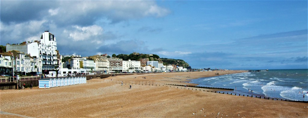 The View From Hastings Pier - Sussex.