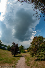 Thunder & Rain (aixcracker) Tags: thunder åska ukkonen rain regn sade summer sommar kesä august augusti elokuu porvoo borgå suomi finland nikond200 samyang 8mm wideangle fisheye