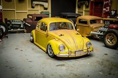 Tamiya M06 Volkswagen Beetle Patina-5 (Strangely Different) Tags: rceveryday rcengineering scaler scalerc hobby tinytrucks tamiya rc4wd axial m06 mini vw volksrod volkswagenbeetle patina lexan