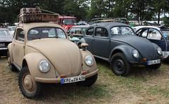 Beetles of war (Schwanzus_Longus) Tags: bockhorn german germany old classic vintage car vehicle world war 2 second ii ww wwii kdf wagen military army wehrmacht volkswagen vw typ82e beetle bug käfer