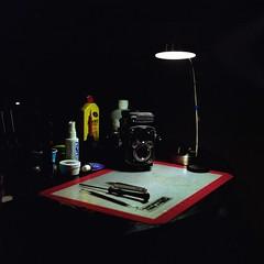 CLA (GOJR.) Tags: vintage mediumformat squareformat 6x6 analog film kodakportra cla dim chiyokorokkor75mmf35 minoltaautocord
