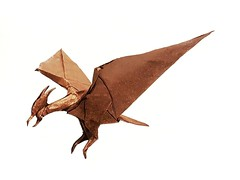 Rodan (Joe Adia) (joeygami) Tags: rodan godzilla gojira kaiju titans origami design bird monster pterodactyl sculpture flying