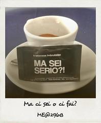 Pigliati un caffè. (iw2ijz) Tags: emoction emozione statoemotivo milan milano tempolibero zucchero tazzina caffè italia italy lombardia