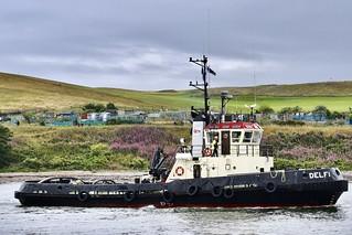 Delfi - Aberdeen Harbour Scotland - 12/8/18