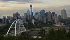 Edmonton Walterdale Bridge View (VanveenJF) Tags: edmonton canon ssc stitch pano canada sony a7ll fd glass lens alberta river northsaskatchewan