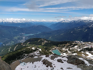 Whistler from the Cloudraker Sky Bridge