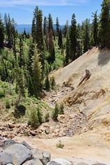 The small stream through the Sulphur Works (daveynin) Tags: volcanic road highway lassen sulphur hydrothermal sulfur