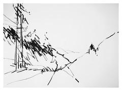 P1018583 (Gasheh) Tags: art sketch nature church charcoal line gasheh 2009