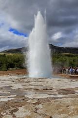 Strokkur (einisson) Tags: strokkur geysir water geothermal haukadalur iceland landscape outdoor nature einisson canon70d