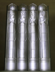 Four angels - The Glass Church (Monceau) Tags: glass angels renélalique glasschurch stmatthewschurch jersey millbrook lalique 227365 365picturesin2018 365the2018edition 3652018 day227365 15aug18