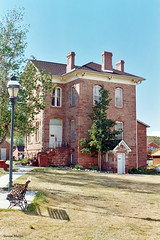 Old Park County Courthouse, Fairplay, Colorado (StevenM_61) Tags: architecture courthouse historical stonebuilding park fairplay colorado unitedstates