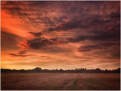 Natural Beauty (andystones64) Tags: sky skywatching sunlight sunset sunlit clouds cloud cloudscape nature naturephotography field farming colour colourful view scunthorpe lincolnshire northlincs northlincolnshire nlincs image imageof imagecapture