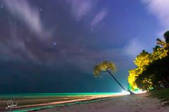 Havelock ... Stars!! (Sumit Jaswal Photography) Tags: havelock andaman india night d7000 nikon