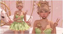 ♡ Modern Day Royalty ♡ (Lili [My Fashionista Heart]) Tags: okkbye ascendant ayashi catwa maitreya mug sorumin cae candycrunchers mandala enchantment gachagarden gobyfameshed cute kawaii fantasy princess