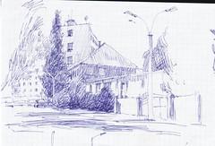 Street (Bohdan Tymo) Tags: sketch
