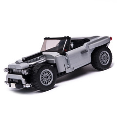 10262 Hot Rod (KEEP_ON_BRICKING) Tags: lego moc car vehicle hotrod aston martin set rebuild db5 10262 custom design afol keeponbricking latlug 2018 youtube video building instructions legomoc legocar alternate alternative remake lego10262moc