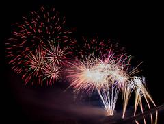 _DSC4998bab2d (lexlupus) Tags: fireworks feuerwerk bodenwerder weserbrennt fisheye lichterfestbodenwerder
