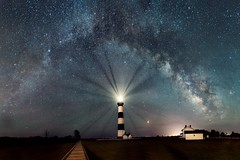 Milky Way at Bodie Island (PeterStout) Tags: milkyway bodieisland bodieislandlighthouse obx outerbanks nikond750 sigma20mmart astrophotography