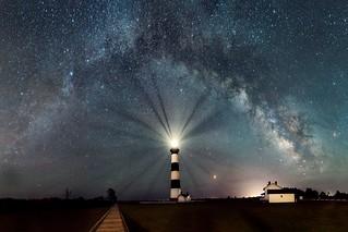 Milky Way at Bodie Island