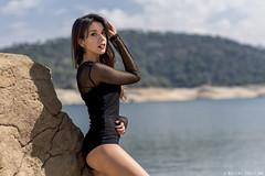 Lucia - 3/5 (Pogdorica) Tags: modelo sesion retrato posado chica pantano lucia bañador