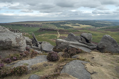 Higger Tor (Rocacidi) Tags: higgertor landscape peakdistrict heather views vista