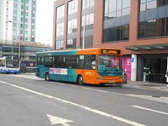 Cardiff Bus 232 (Welsh Bus 18) Tags: cardiffbus transbus dart slf minipointer 232 cn53akx customhousestreet cardiff b34f